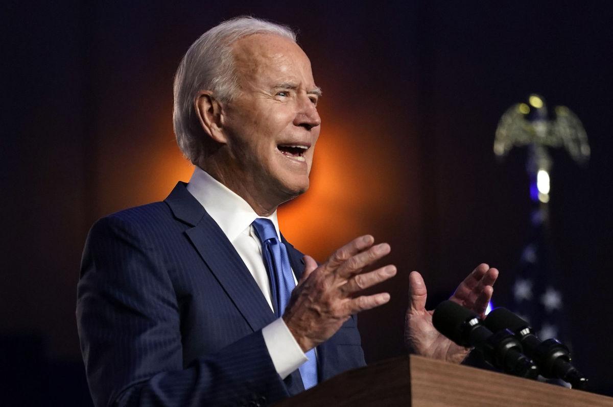 Joe Biden, prezidentské voľby v USA