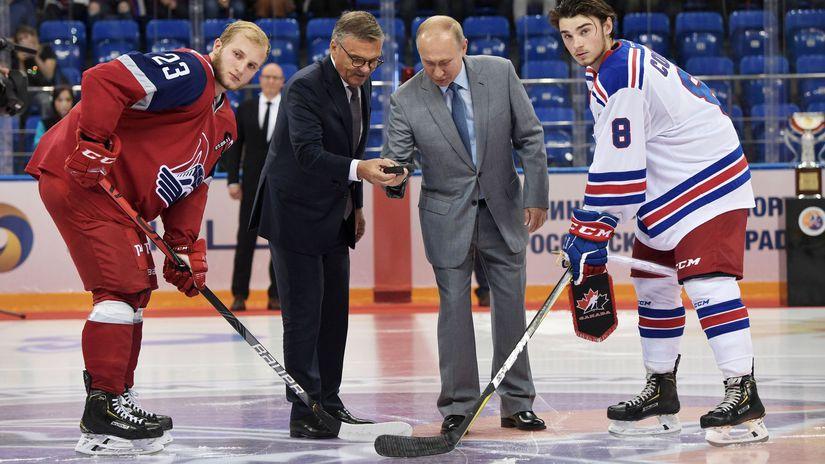 René Fasel, Vladimir Putin