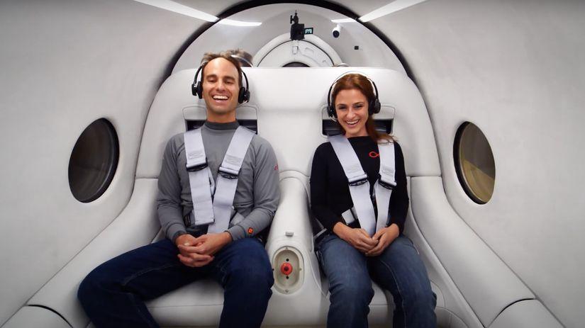 Hyperloop, preprava, Elon Musk, Virgin Hyperloop
