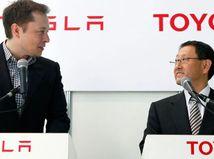 Akio Toyoda a Elon Musk
