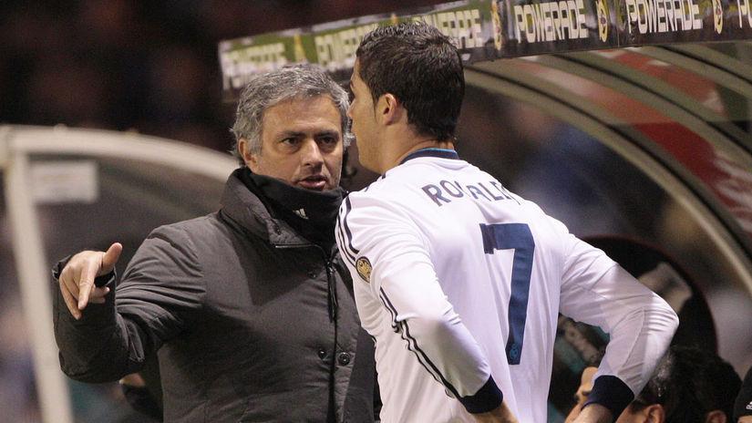 José Mourinho, Cristiano Ronaldo