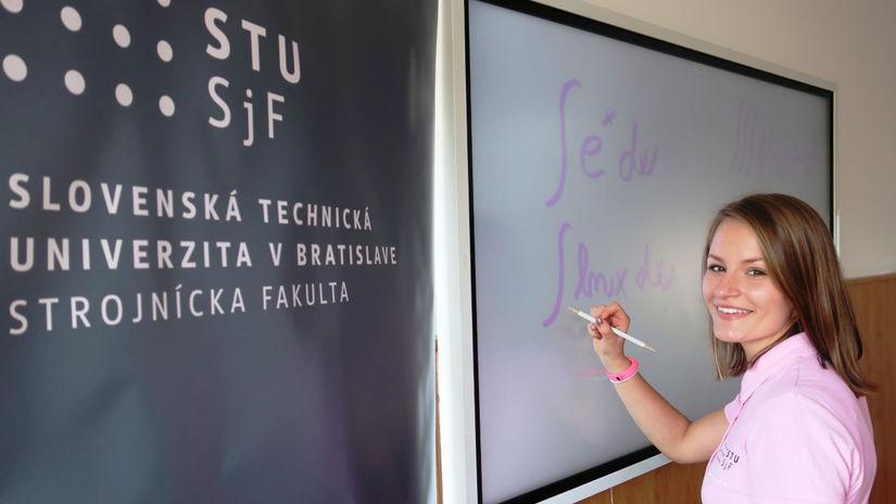 Natália Juráková, študentka, STU