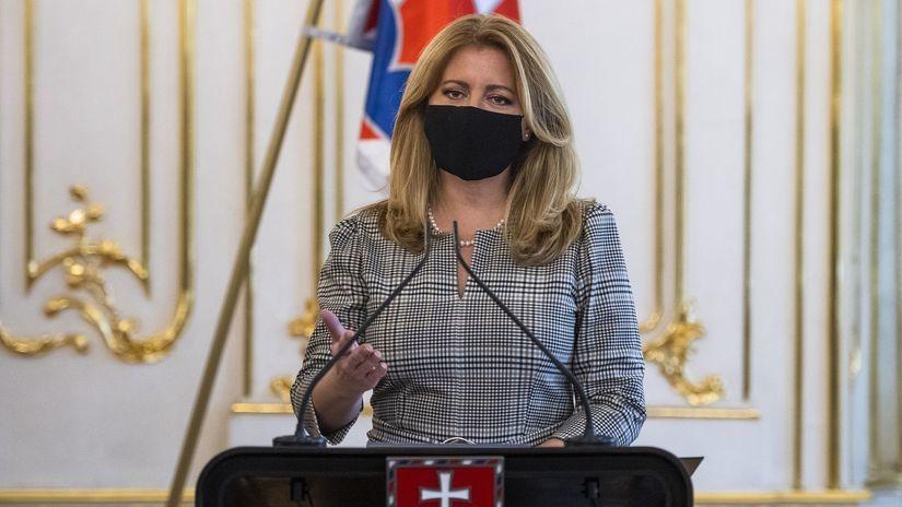 prezidentka Čaputová
