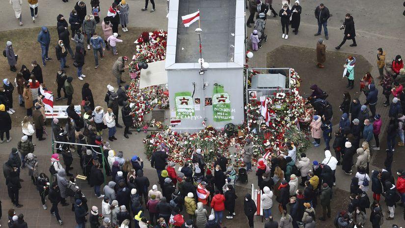 Bielorusko mladík smrť podujatia smútočné