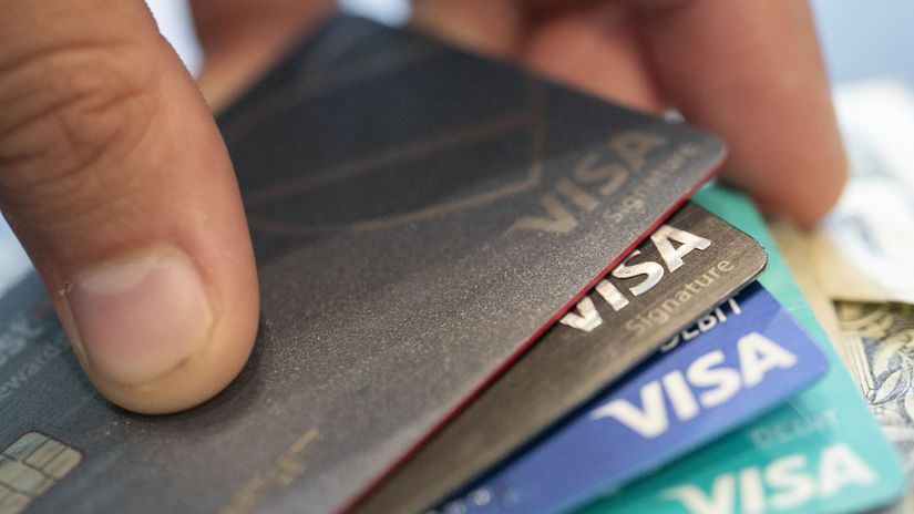 Visa / Kreditná karta / Bankomatová karta /...