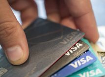 Visa / Kreditná karta / Bankomatová karta / Peniaze /
