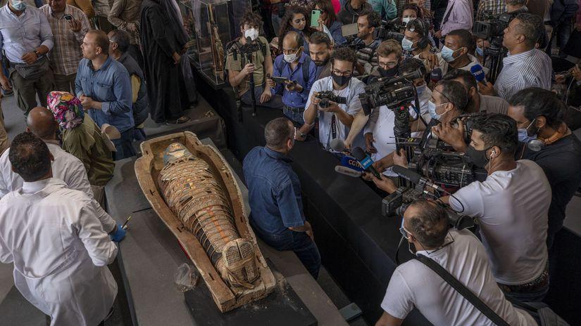 Egypt / Sarkofág / Múmia /