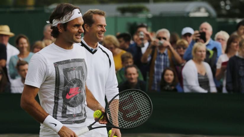 Roger Federer, Stefan Edberg