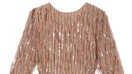 Dámske dlhé šaty s trblietavou výšivkou Reserved, info o cene v predaji.