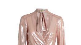 Dámske šaty s lesklým dezénom Liu Jo, info o cene v predaji.