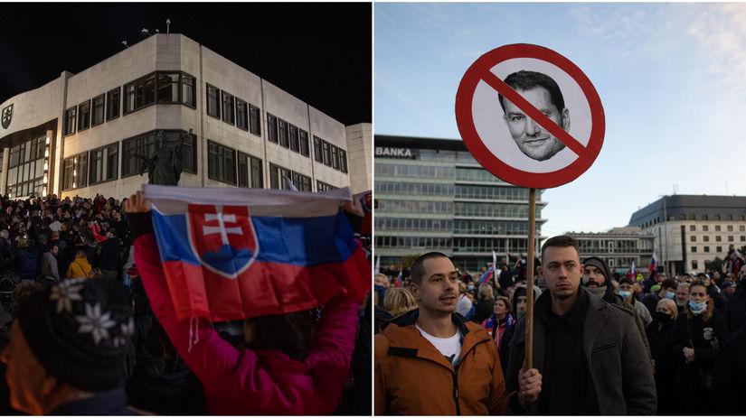 Protest / Demonštrácie / November 89 /