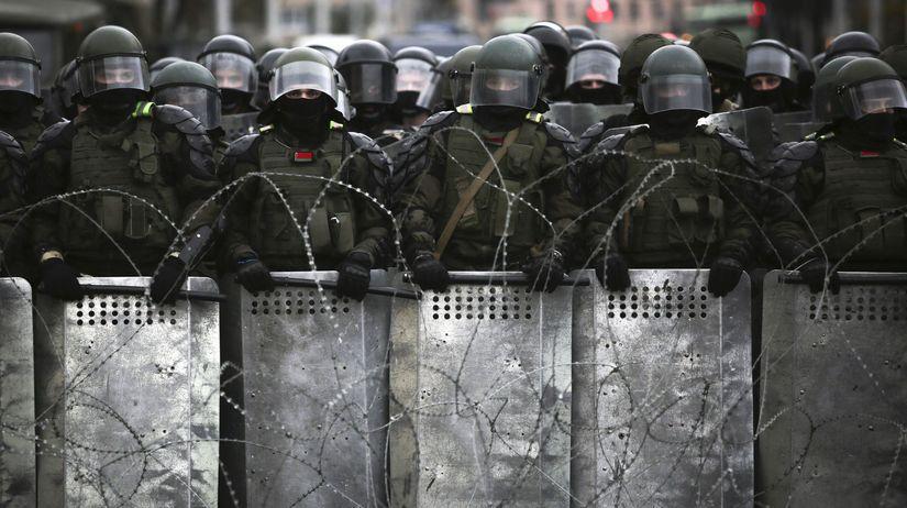 Bielorusko / Polícia /