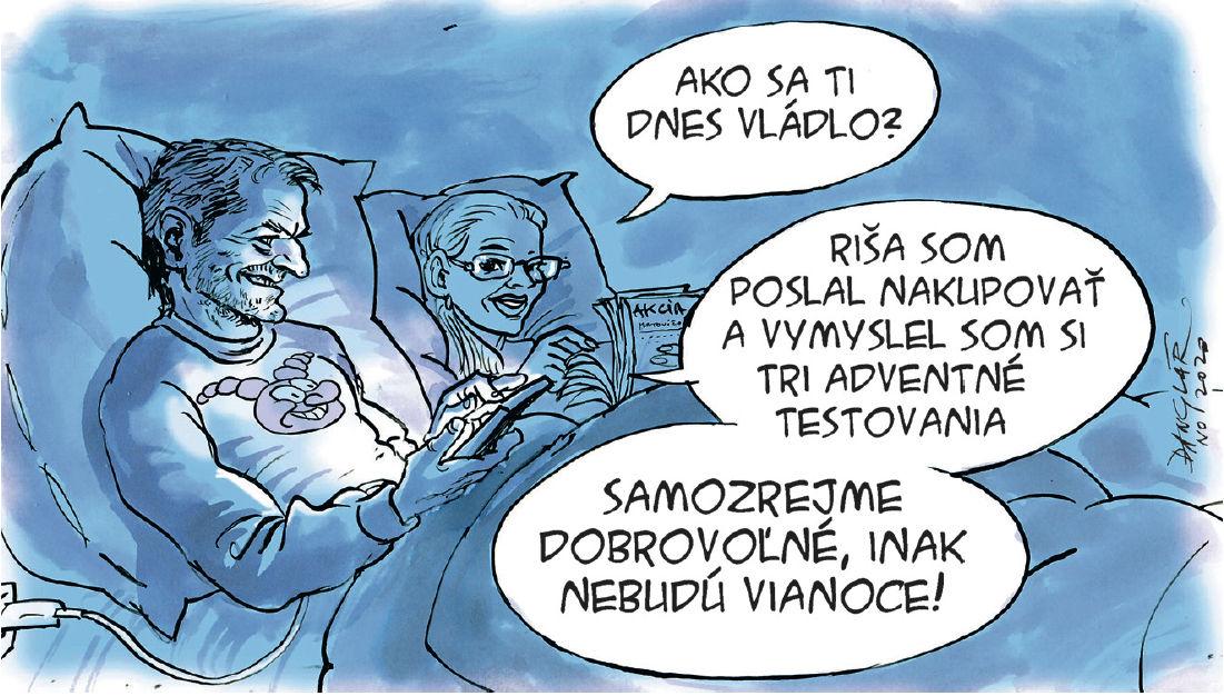 Karikatúra 20.11.2020