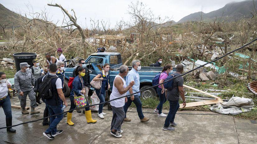 hurikán stredná amerika kolumbia