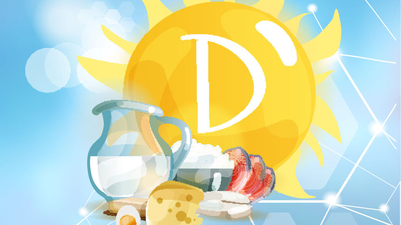 slnko, vitamín D, zdravá strava