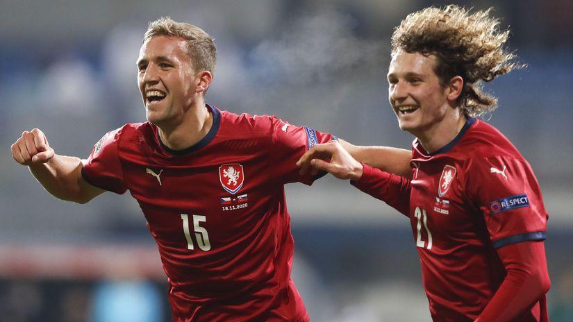 Tomáš Souček, Alex Král, českí futbalisti
