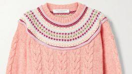 Dámsky sveter s nórskym vzorom Philosophy di Lorenzo Serafini. Predáva Net-a-porter.com za 325 eur.