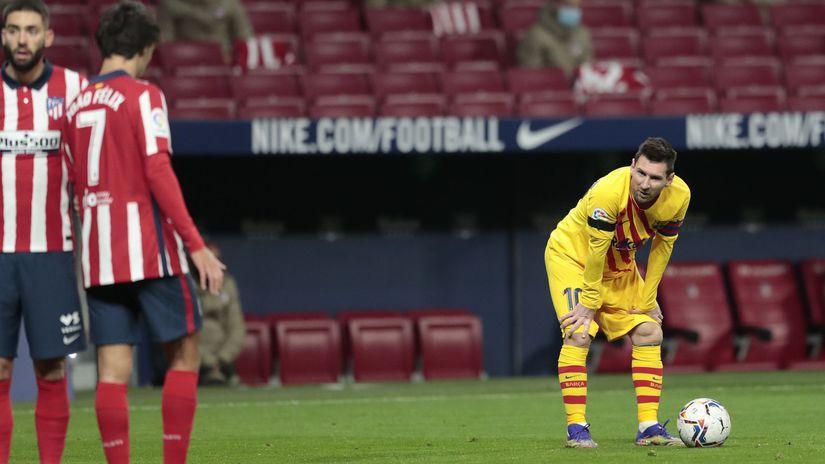 Lionel Messi, FC Barcelona, Atlético Madrid