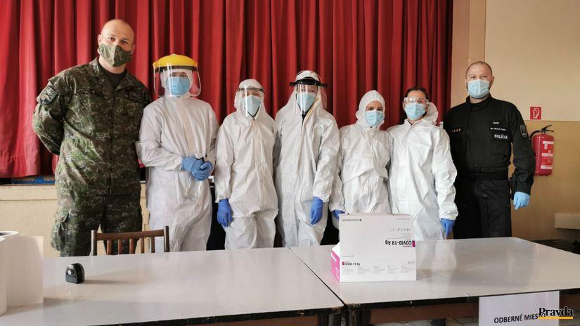 plošné testovanie neporadza koronavírus