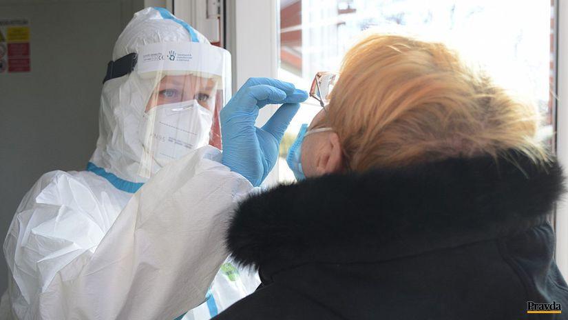 markovce zemplín testovanie koronavírus