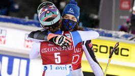 Petra Vlhová, Michelle Gisinová