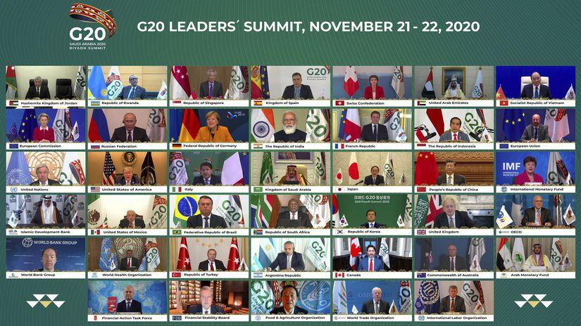summit G20 lídri