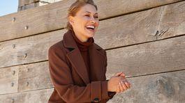 Dámsky kabát Next z kolekcie Emma Willis pre Next, predáva sa za 99 eur.