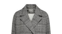 Károvaný dámsky kabát Only, predáva sa za 93 eur.