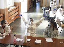 ONLINE: Víkendové testovanie odhalilo 2501 pozitívnych