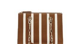 Hranatá dámska kabelka s geometrickým vzorom Liu Jo, info o cene v predaji.