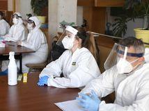 Valaliky koronavírus testovanie