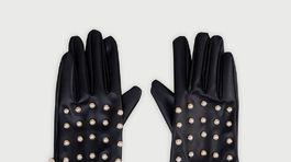 Dámske rukavice s perlovými detailmi Liu Jo, predáva sa za 29,90 eura.