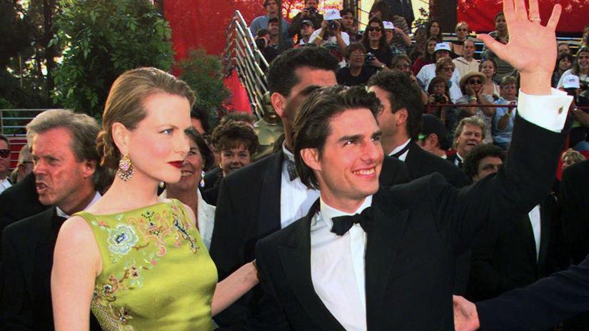 Oscars-Fashion Herečka Nicole Kidman na zábere...