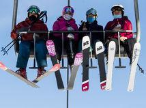 Švajčiarsko, koronavírus, lyžovačka