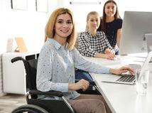 ťzp. invalidný vozík, práca