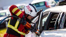 Volvo - crashtest pre záchranárov