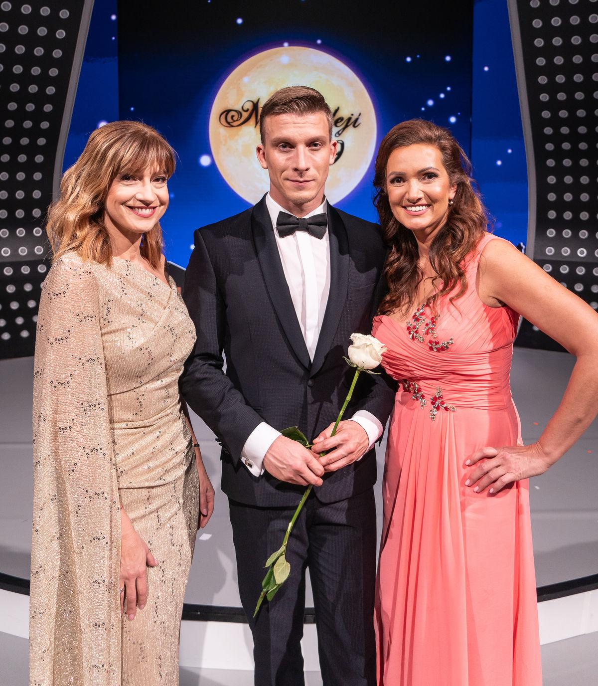 Moderátorské trio v zložení (zľava) Jarmila...