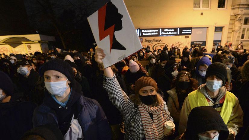 poľsko protest interrupcie