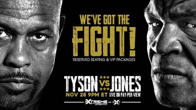 Roy Jones Jr., Mike Tyson