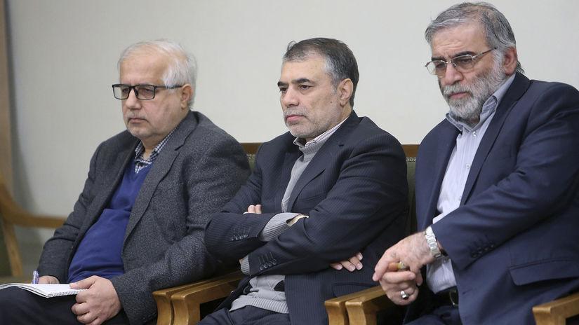 Иранский ученый-ядерщик Мохсен Фахризаде-Махабади