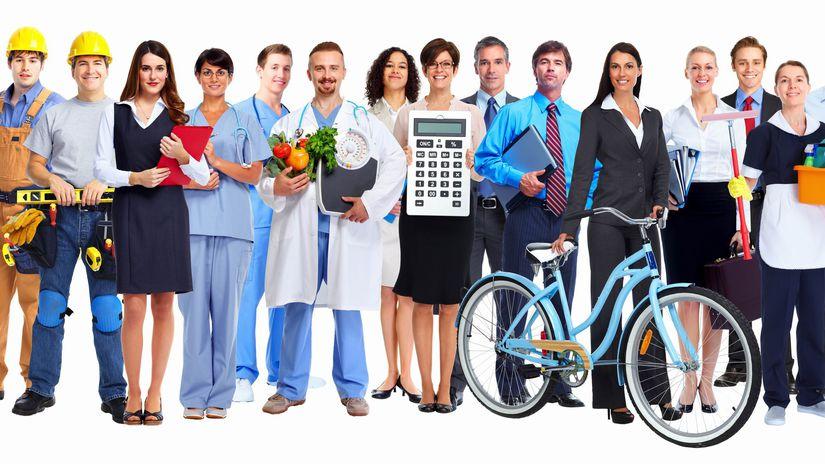 zamestnania, povolania, práca