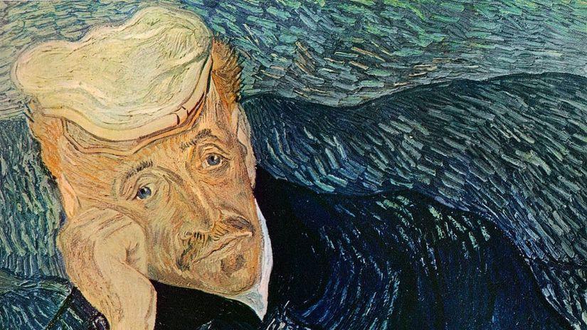 Portrait-of-Dr-Gachet Vincent van Gogh