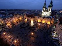 ČR Praha Vianoce Trhy Obmedzenia koronavírus