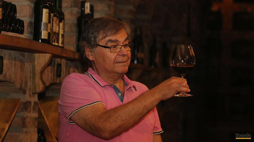 Peter Matyšák, víno
