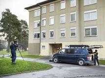 Švédsko Štokholm Žena Syn Väznenie