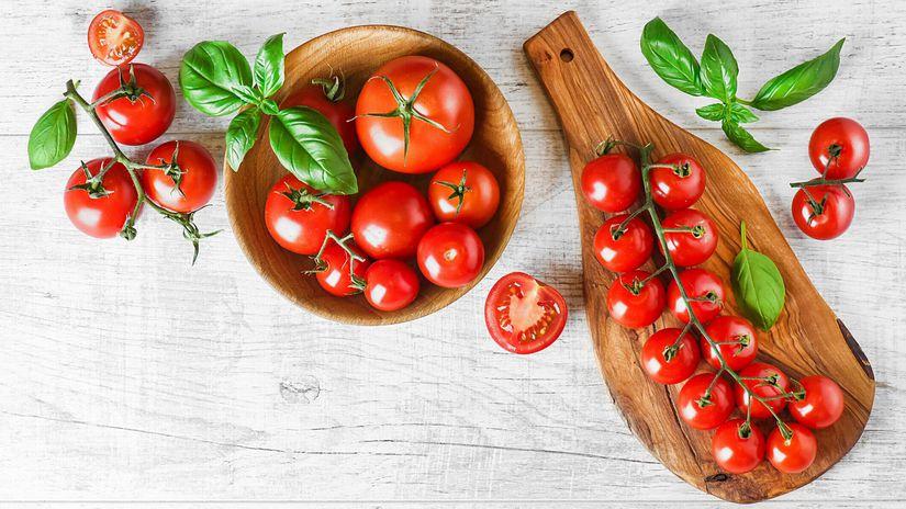 histamín, paradajky, rajčiny