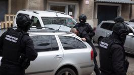 NAKA polícia zásah zatknutie judáš