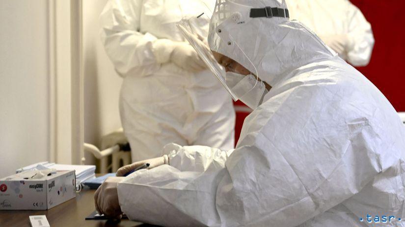 Test Antigénový Odber Koronavírus
