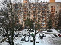 Bratislava, prvý sneh