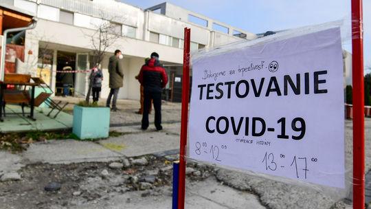 SR Bratislava koronavírus testovanie DKRužinov